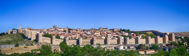 Panorámica de Ávila