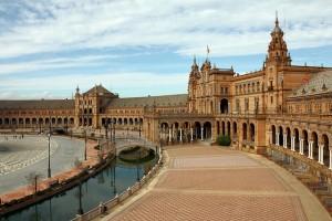 Plaza de España en Sevilla (Naboo)