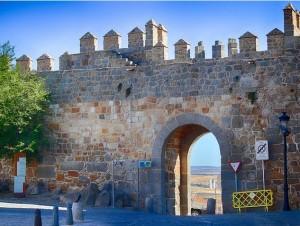 Puerta de San Vicente en Ávila