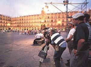 Rodaje en Salamanca, En el punto de mira