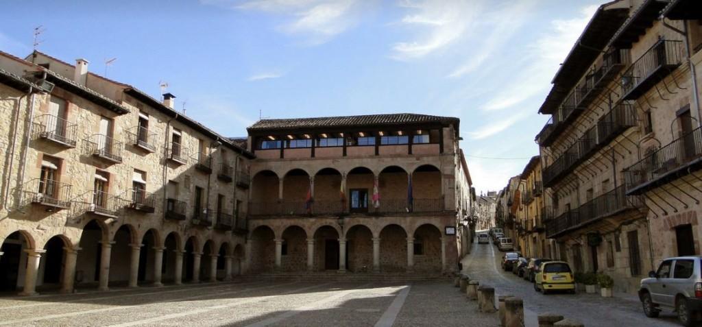 Ayuntamiento Plaza Mayor de Sigüenza