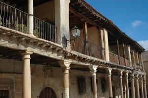Balcones, Plaza Mayor de Pedraza