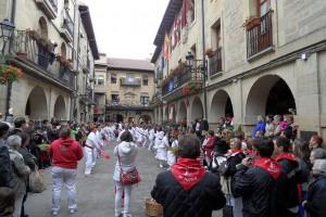 Danzarines, Laguardia