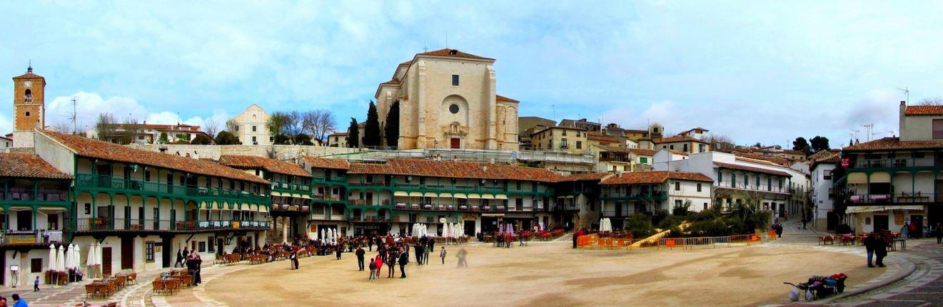 Panorámica Plaza Mayor de Chinchón