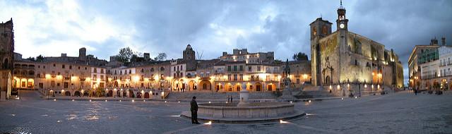 Panorámica de la Plaza de Trujillo