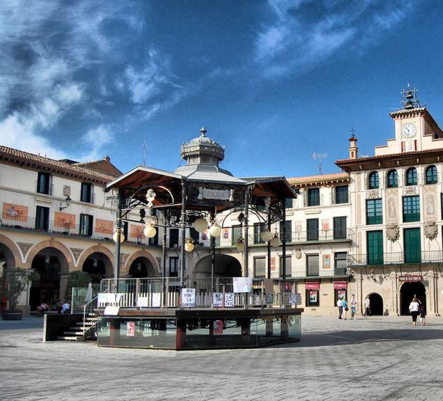 Plaza Mayor de los Fueros
