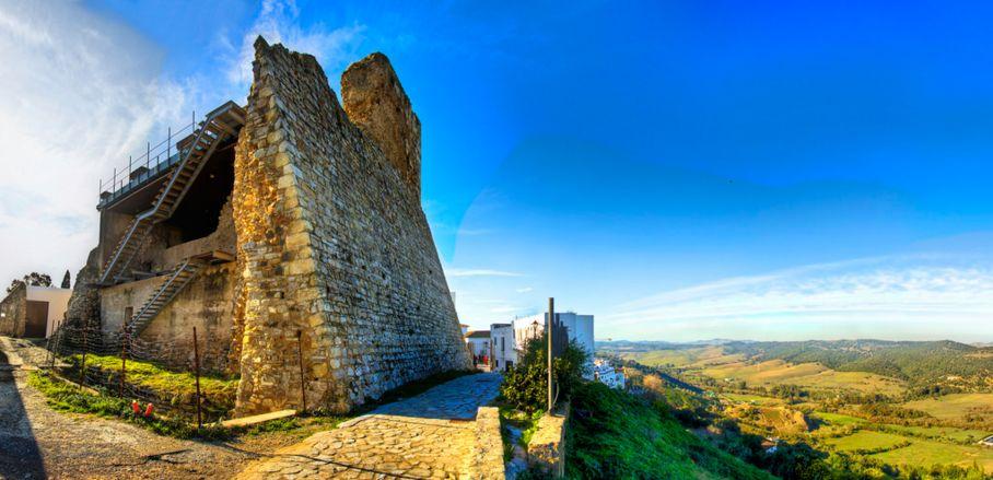 Alcalá de los Gazules y el castillo