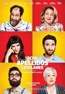 Ocho Apellidos Catalanes cartel
