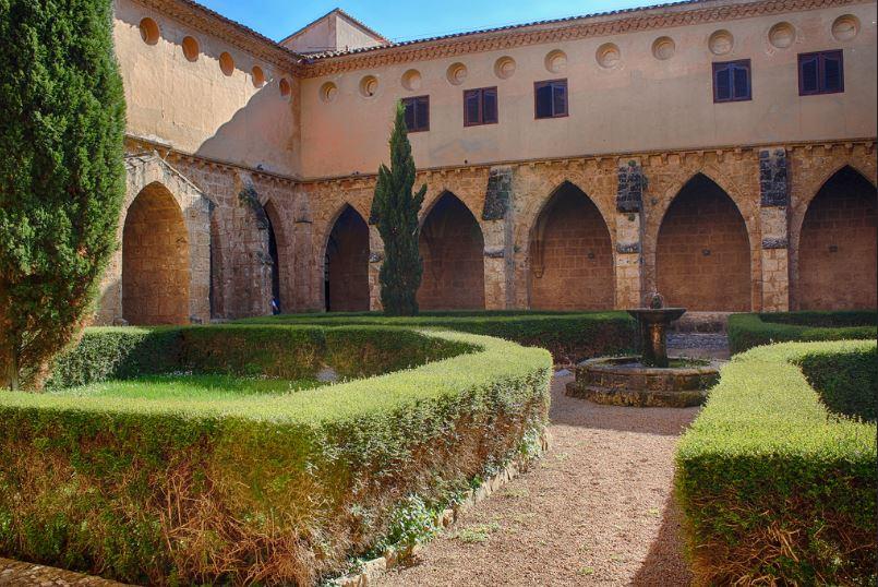 Exteriores Monasterio de Piedra