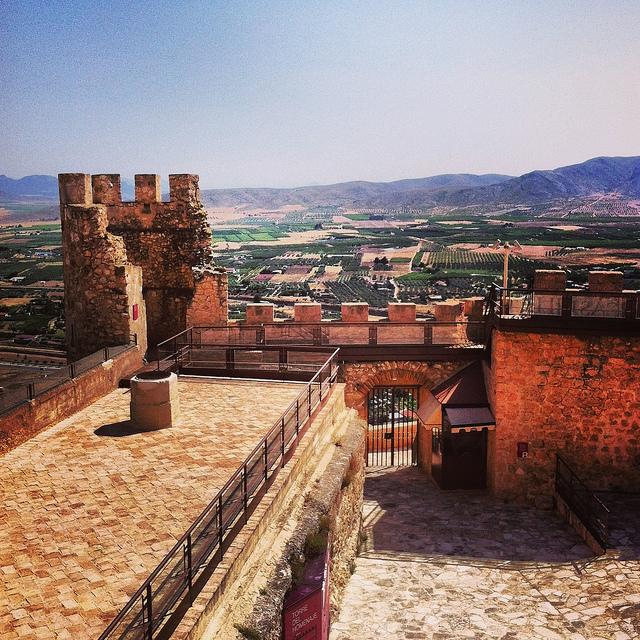 Jumilla y el castillo