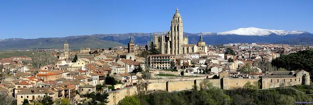 Vistas generales de Segovia