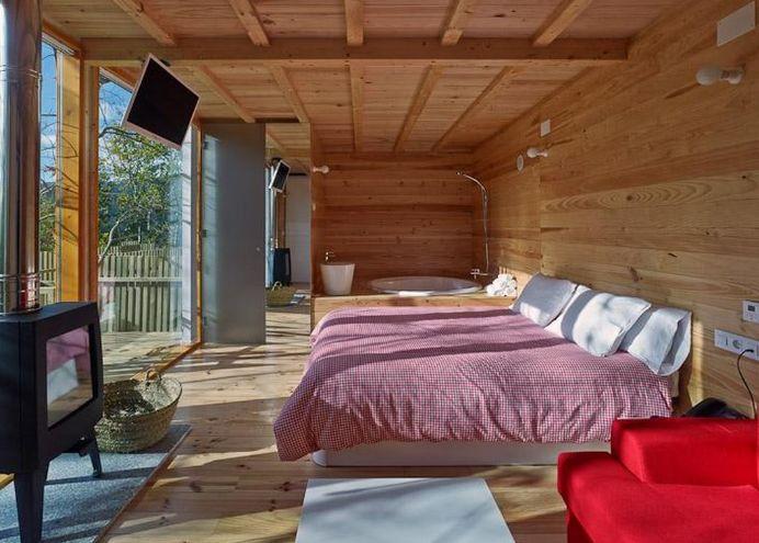 Cabañitas del Bosque- Dormitorio