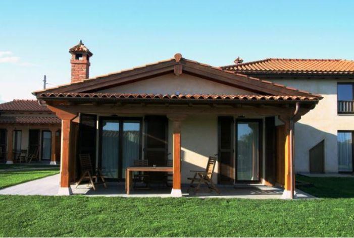 Casona de Llanorrozo- Agradable porche
