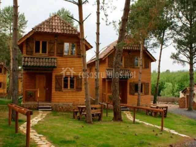 Casas de madera de Prades-Casasrurales.net