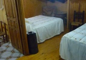 Dormitorio doble de la planta baja