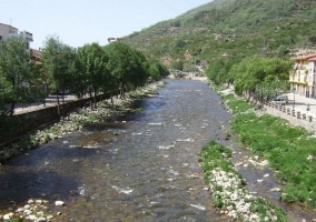 Zona del río en Navaconcejo