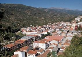 Zona poblada en Navaconcejo