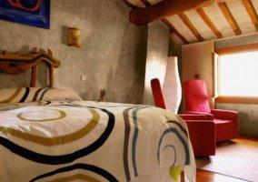 Dormitorio Tila con butacones