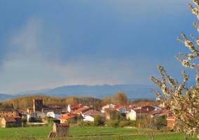 Pueblo de Santurde de Rioja