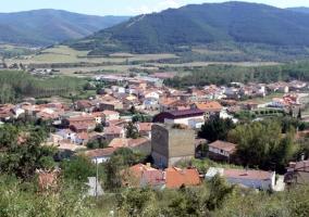 Vista de Santurde desde lo alto