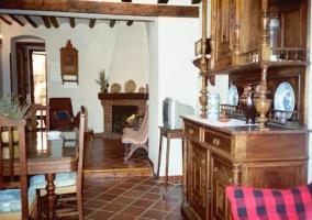 Casa rural san benito en huete cuenca for Casa rural jardin del desierto
