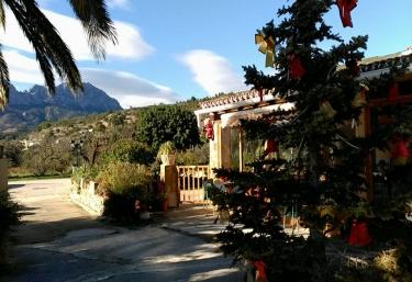 Casa rural el Peón de Pinos - Benissa, Alicante