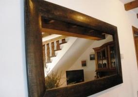 Detalle del espejo del comedor
