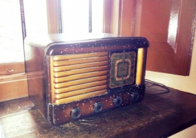 Detalles de la antigua radio