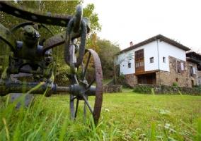 Exteriores y fachada de la casa