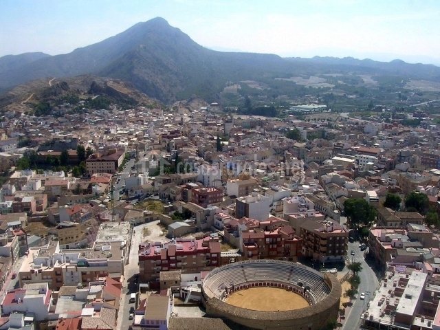 Panorámica del municipio de Calasparra