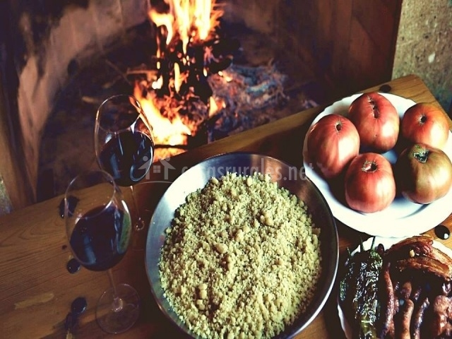 Platos de gastronomía típica