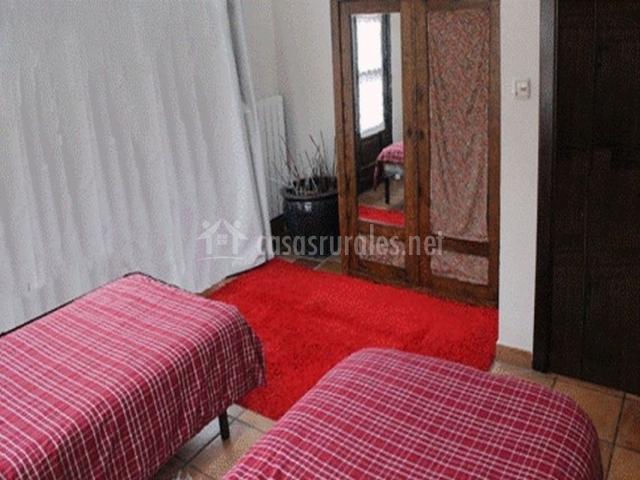 Detalle dormitorio doble