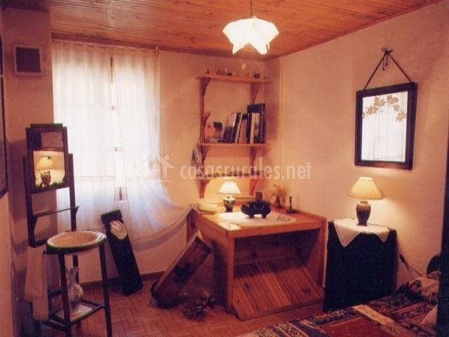 Detalle de la habitación individual