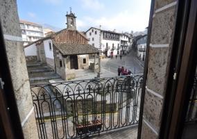Plaza principal de Candelario
