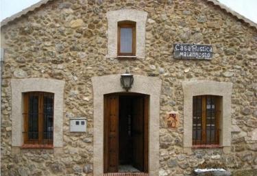 Casa Rural Malangosto - Sotosalbos, Segovia