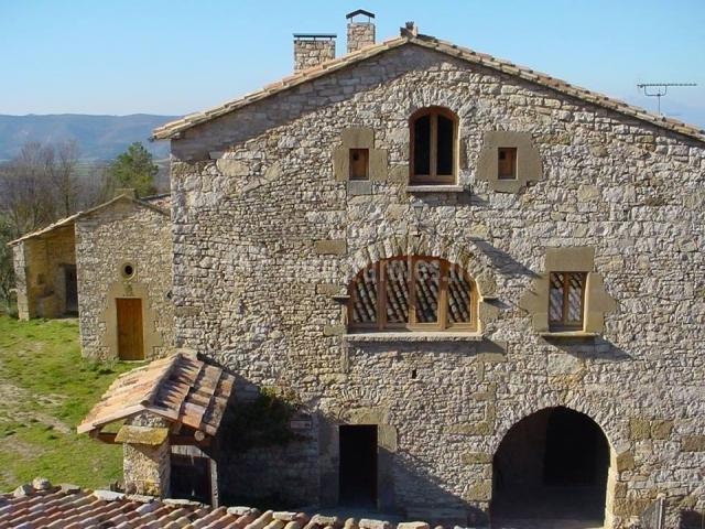 El mas de castelltallat en castelltallat barcelona - Casas rurales bcn ...