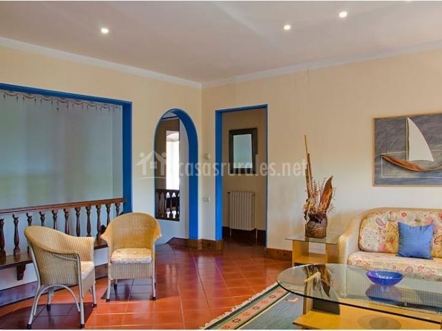 La fassina en altafulla tarragona for Sala de estar antigua