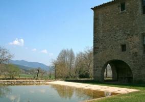 Fachada exterior de la Casa Rural Can Capsec
