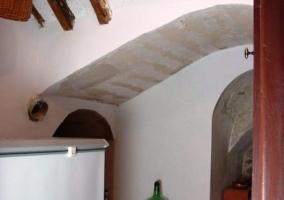 Congelador con techo abovedado
