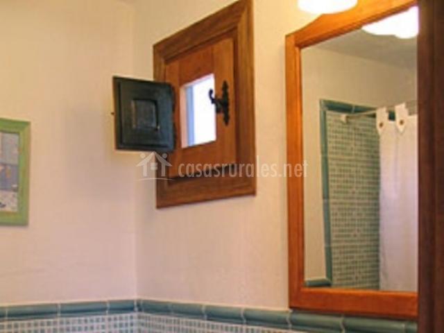 Baño con ventanita
