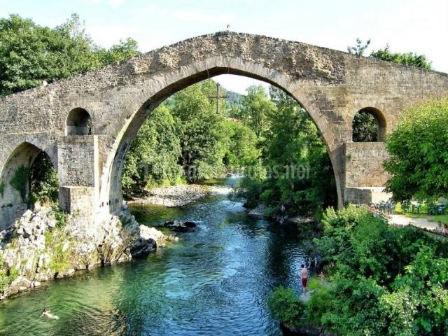 Puente Romano Matrimonio : Casa rural riosol en cangas de onis asturias