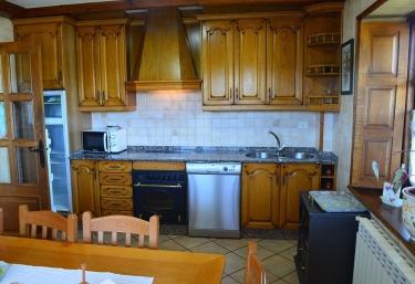 Pipelo cocina de la casa