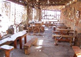 Terraza del bar