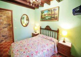 Dormitorio pequeño para dos