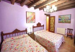 Dormitorio rosado