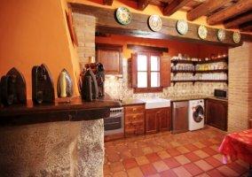 Decorativos antiguos de la cocina