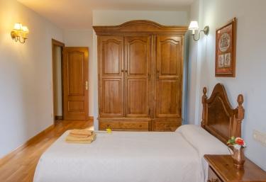 Habitaciones con armarios para guardar las pertenencias