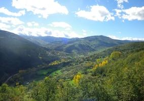 Vista del Parque Natural de Cebollera