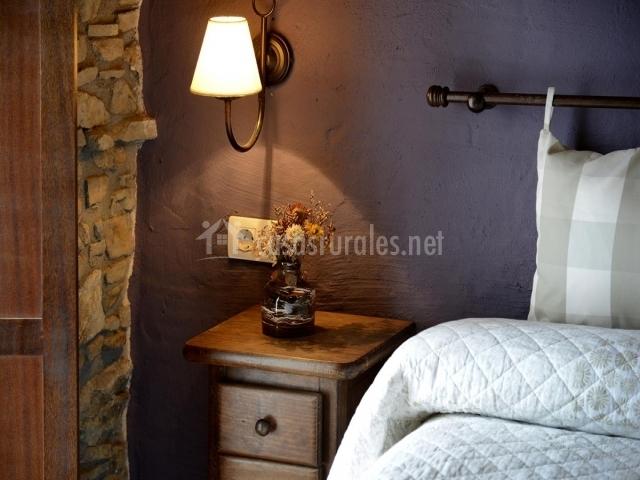Dormitorio, detalle