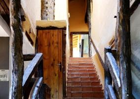 Escaleras de subida